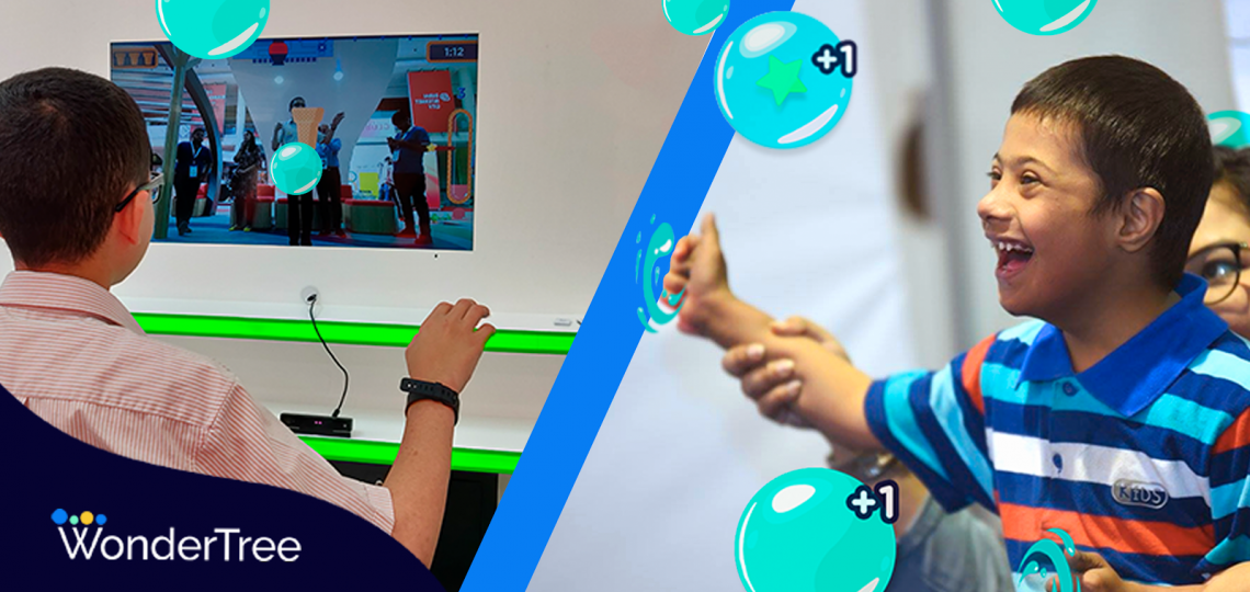 WonderTree creates Augmented Reality (AR) games to accelerate learning and development of motor and cognitive skills for children with special needs.